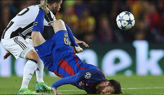 Messis Barcelona Out Of Champions League