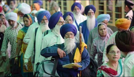 Sikh Pilgrims Left For India After Attending The Baisakhi Festival