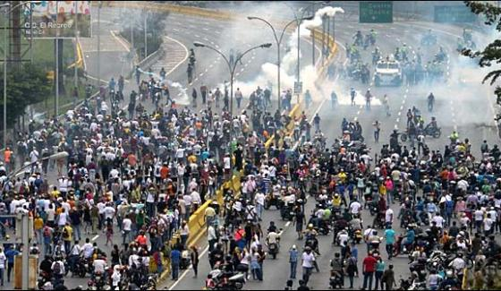 The Anti Government Protests In Venezuela