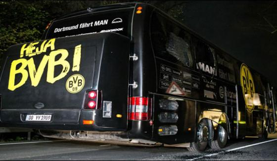 Germany Football Team Bus Attackrussian Man Arrested