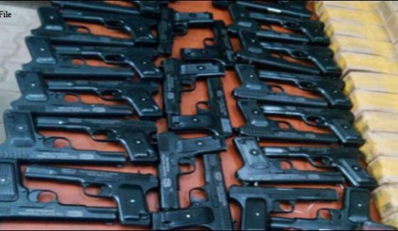 Peshawar To Punjab Failed Arms Smuggle
