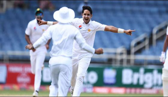 First Test Pakistan Stable Position On Lunch Break