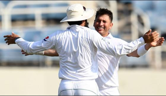 Pakistan Won By 7 Wickets Against West Indies At Kingston