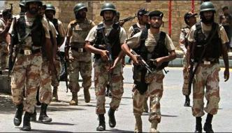 Karachi Rangers Weapons Hidden In Shop