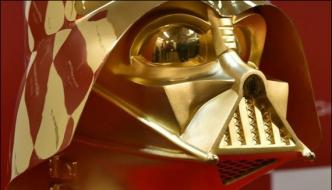 Mask Of Film Star Wars Famous Character Introduced In Exhibition