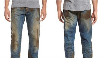Wear Dirty Jeans Look Unique Rs 45 Thousand