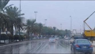 Saudi Arab Torrential Rain Makes Weather Pleasant Normal Life Disturbed