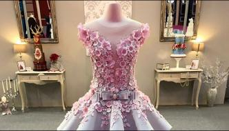 A Wedding Dress That Can Be Worn And Eaten