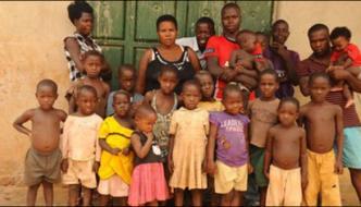 Uganda 38 Children 37 Year Old Mother Worried