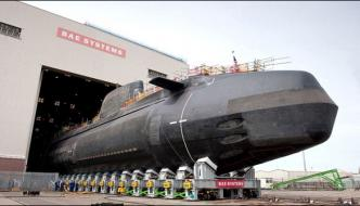 British Prepared Her Historys Largest Nuclear Submarine