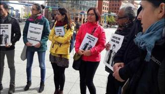 Protest Against Murder Of Mishal Khan In Germany