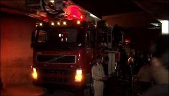 Karachi Fire Erupted On Hospitals Roof Under Control