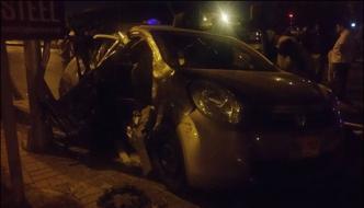 Karachi Drunk Man Hit Two People While Driving