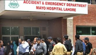 Lahore 4 People Burned In Rickshaw Cylinder Explosion