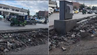 Citizens Suffers From Mental Anguish Of Urban Development On Jamrud Road