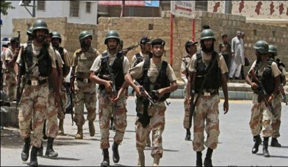 Karachi Rangers Search Operation 21 Arrested Criminal Killed In Police Encounter