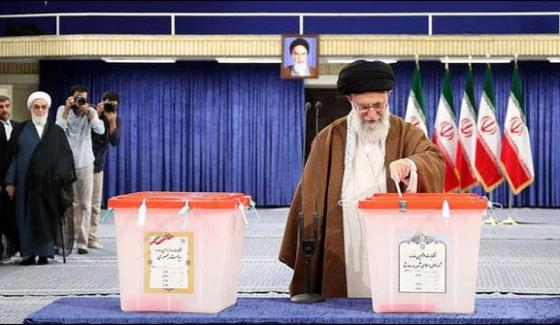 Iran Election Voters Go To The Polls To Pick President