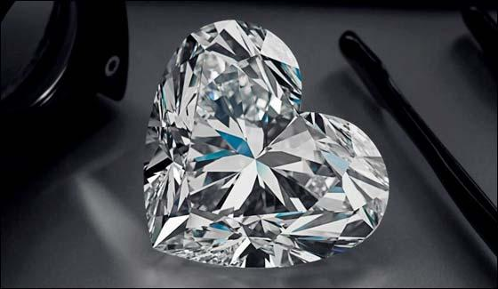 Graff Unveils Worlds Largest D Flawless Heart Shaped Diamond