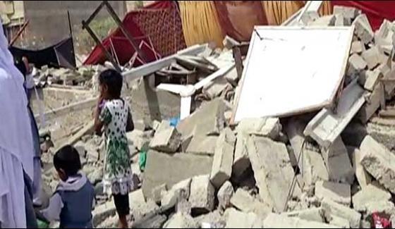 Kda Demolishes Private School Near Korangi Crossing