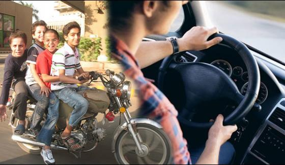 14 Million Youth Drive Vehicles In Karachi