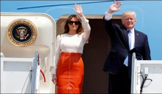 Trump Off On First Foreign Tour To Saudia Arabia