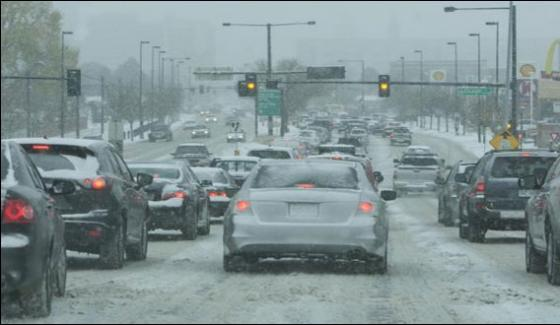 Usa In Grip Of Heavy Snowfall And Flooding