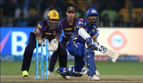 Kolkata Loses At The Hands Of Mumbai By 6 Wicket At The Ipl Qualifier 2