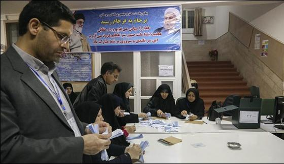 Counting Of Votes In Iran Stiff Compeition Between Roohani And Raisi