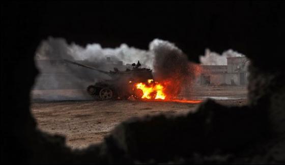 Tripoli Southern Libya Airbase Attack Kills 141