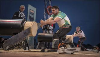 Germany Holds Timber Sports World Championship Event