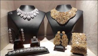 Doha Set Up The Annual Exhibition Of Precious Jewelry And Expensive Watches