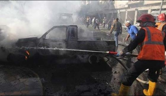 Policeman Killed In Bomb Blast In Cairo 4 Injured
