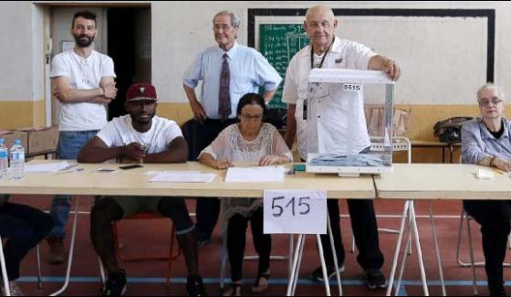 France Second Round Voting In Parliamentary Elections