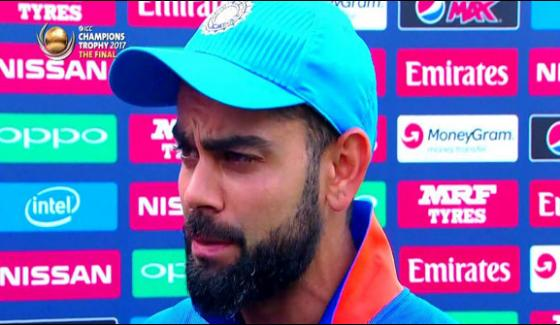 Indian Captain Virat Kohli Felicitated To Team Pakistan