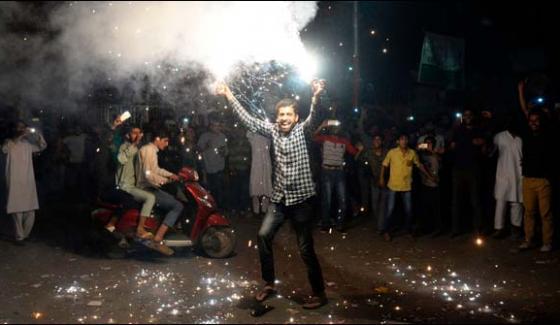 Occupied Kashmir Celebrates Pakistans Victory