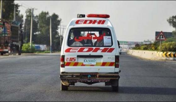 Karachi Traffic Accident 5 Killed