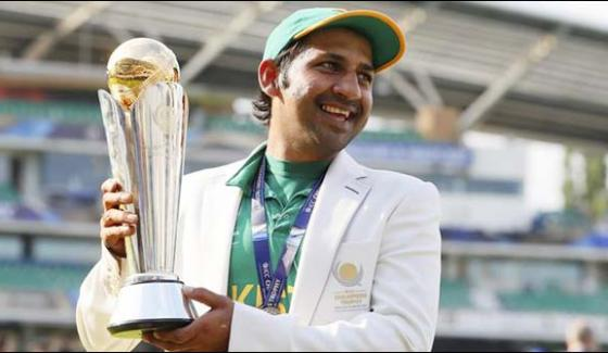 Captain Sarfaraz Wiil Be Return Tomorrow With Champion Trophy