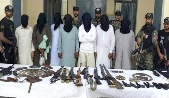 Radd Ul Fasaad Punjab Rangers Apprehend 20 Suspects