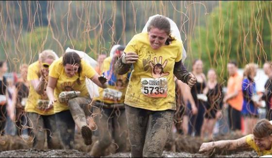 Scotland Mud Race