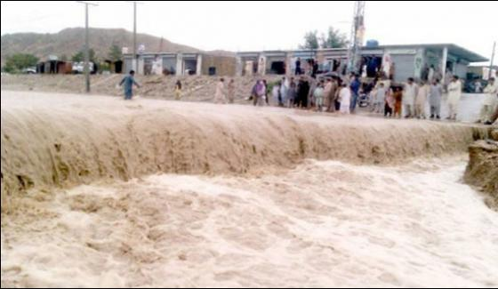 Balochistan Two People Were Killed In Floods Drifting Away Van