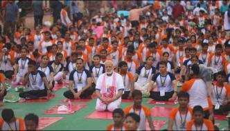 3rd International Yoga Day 2017 In India