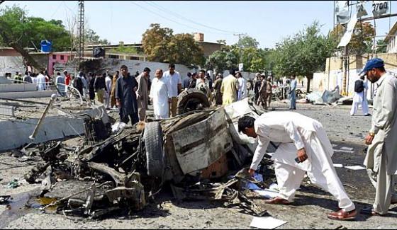 کوئٹہ میں دھماکا ،پولیس اہلکاروں سمیت12 افرادجاں بحق