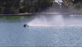 Bullet Speed Powered Miniature Toy Truck On Water