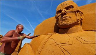 Sand Sculpture Festival Begins In Belgium