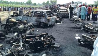 More Than150 People Died As Oil Tanker Blew Out In Bahawalpur