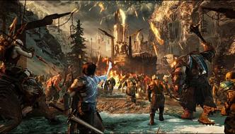 Action Game Middle Earth Shadow Of War