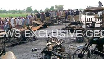 Bahawalpur Tanker Tragedy Woe To Political Leaders