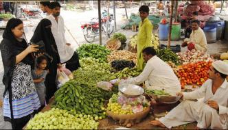The Shopkeepers Annual Campaign In Lahore Received High Prices Of Goods