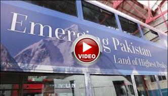 Double Decker Bus To Highlight The Culture Of Pakistan