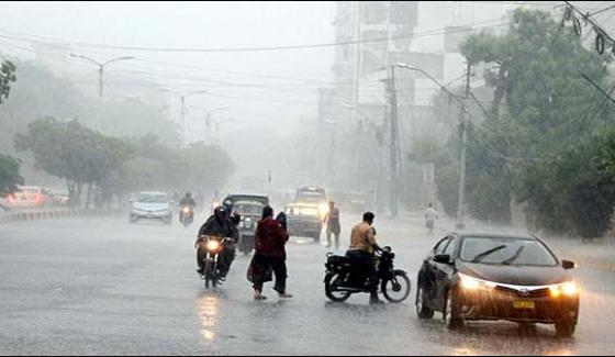 Rain To Continue Till Friday In Karachi Met Office